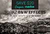 Topaz B&W Effects - $20 off