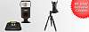 Exclusive savings: Cactus RF-60 Flash Bundle & Sirui T-025x Tripod