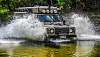 landrover having a bath