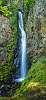 Hole-in-the-Wall waterfall (vertical pano)