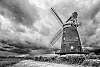 Windmill against the storm