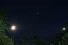 Moon, Jupiter, and Venus tonight