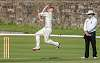 The fast bowler
