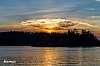 Sunset at Lake Campbell