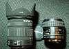 D FA 50mm f/2.8 1:1 macro, Sigma 18-50 f/2.8-4.5 OS/HSM