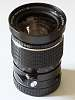 Rare Mamiya-Sekor Shift C 1:4 50mm custom adapted for Pentax 645 mount