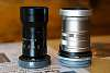 Fujinon 75mm f/1.8 C-mount with Sony E-adapter