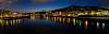 Lyon at night - Panorama