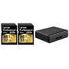 Lexar One Day Deal: 2 32Gb cards + free USB 3 card reader