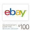 Ebay- $100 gift card for $95