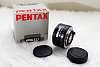 Pentax FA50 f/1.7 w/ Box, Original Caps