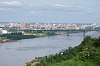 Nizhny Novgorod and Oka river