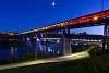 Edmonton High Level bridge lit in solidarity for LGBTQ community