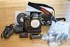 Pentax K-5 Body with Accessories and Non-Pentax Grip - Price Cut
