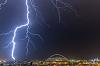 Lighting Strike off the coast at Durban tonight!