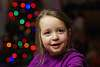 Christmas lights portrait with FA 77mm