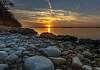 Sunset Ölmos Wester Finland