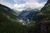 The Geiranger fjord Norway