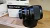 Sigma 35mm f1.4 Art and Sigma USB Lens Dock Combo