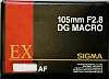 Sigma 105mm DG EX F2.8 Macro Lens pentax Mount