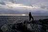 The lone fisherman...........
