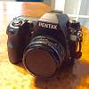 Pentax K-3 II with FluCard and original accessories