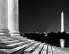 DC Memorials at Night