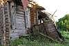 Abandoned log house