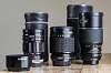 Bargain FF Lenses - Chinon 200/3.5, Vivitar 90/2.8, Komura 135/2.8, Pentax 70-210/4