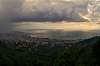 Fisheye Cityscape