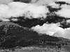 Fall sky over Balmer Ridge