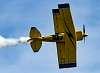 Pitts Biplane Cutting Ribbon