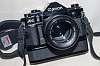 Canon A-1 + FDn 50/1.2 + winder