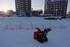 Snow Blower Racing