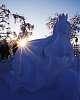 Kiruna Snow Sculpture Competition 2018