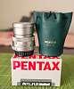 Pentax Fa 77mm f.8 Ltd Silver (dust/droplets on front element)