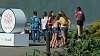 Group hug at the falls.