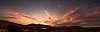 A smoky Pilbara sunset