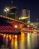 Sumida River at night