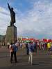 Rally  against  gavament plans to  increase in retirement age in Nizhny  Novgorod