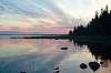Sunset in Karelia