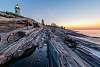 Pemaquid Point Lighthouse Dawn