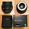 Sigma 50mm 1.4 EX DG HSM lens