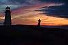 Sunset - Peggy's Cove Nova Scotia