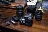 Pentax K-50, DA 50, DAL 50-200, DA* 16-50mm, DA 35, Tamron 28-300, accessories