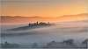 Poggio Covili sunrise, Tuscany