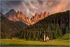 San Giovanni in Ranui, Dolomites - in colour