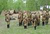 9th of May Victory Day. Reconstruction of the Second World War