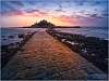 St. Michael's Mount, sunset