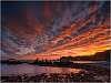 Unforgettable sunrise at Playa de Gueirua, Asrturias